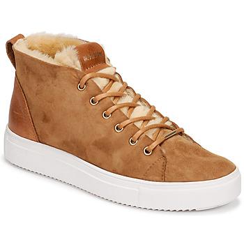 Zapatos Mujer Zapatillas altas Blackstone QL48 Marrón