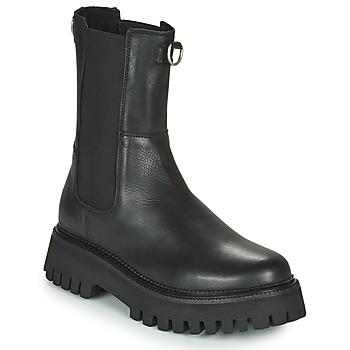 Zapatos Mujer Botas de caña baja Bronx GROOV Y Negro