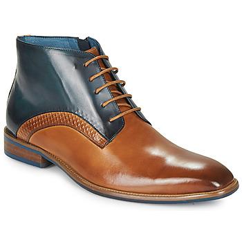 Zapatos Hombre Botas de caña baja Kdopa HARRIS Cognac / Azul