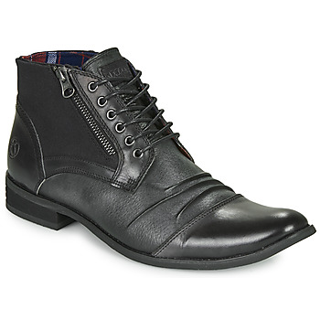 Zapatos Hombre Botas de caña baja Kdopa TOM Negro