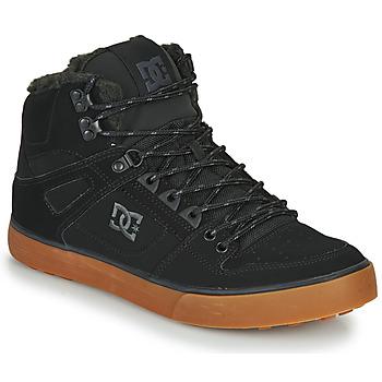 Zapatos Hombre Zapatillas altas DC Shoes PURE HT WC WNT M Negro
