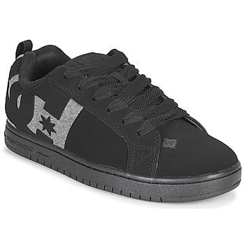 Zapatos Hombre Zapatos de skate DC Shoes COURT GRAFFIK Negro / Gris