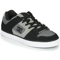 Zapatos Hombre Zapatillas bajas DC Shoes PURE Negro / Gris
