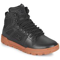 Zapatos Hombre Zapatillas altas DC Shoes PURE HIGH TOP WR BOOT Negro