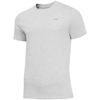 textil Hombre camisetas manga corta 4F TSM003 Grises