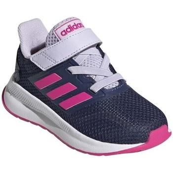 Zapatos Niños Running / trail adidas Originals Runfalcon I Blanco,Azul marino