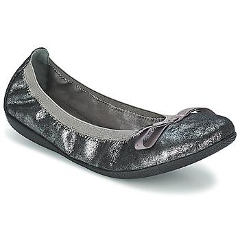 Zapatos Mujer Bailarinas-manoletinas Les P'tites Bombes ELLA METAL Plateado