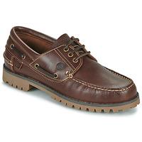 Zapatos Hombre Zapatos náuticos Casual Attitude EVEROA Marrón