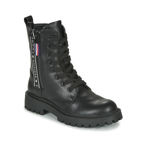 Zapatos Niños Botas de caña baja Tommy Hilfiger T3A5-30851 Negro