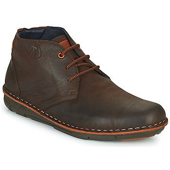 Zapatos Hombre Botas de caña baja Fluchos ALFA Marrón