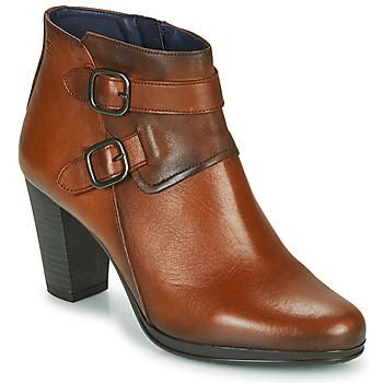 Zapatos Mujer Botines Dorking JIN Marrón