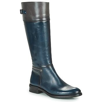 Zapatos Mujer Botas urbanas Dorking TIERRA Azul / Gris