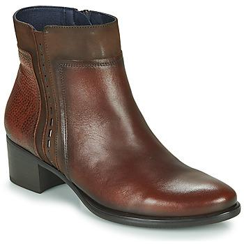 Zapatos Mujer Botines Dorking ALEGRIA Marrón