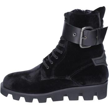 Zapatos Mujer Botines Roberto Botticelli botines terciopelo negro
