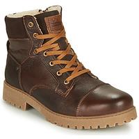 Zapatos Niño Botas de caña baja Bullboxer ALL518E6LA-BRWN Marrón