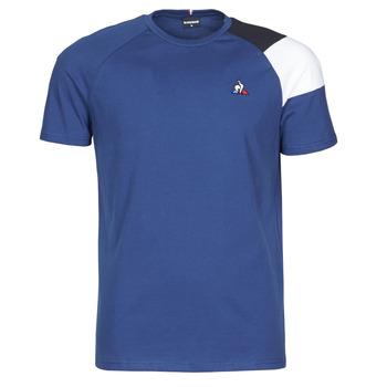 textil Hombre Camisetas manga corta Le Coq Sportif ESS TEE SS N°10 M Azul