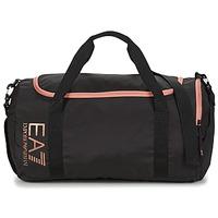 Bolsos Hombre Mochila de deporte Emporio Armani EA7 TRAIN CORE U GYM BAG SMALL Negro / Rosa