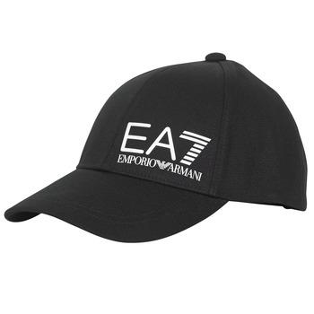 Accesorios textil Hombre Gorra Emporio Armani EA7 TRAIN CORE ID M LOGO CAP Negro