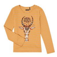 textil Niña Camisetas manga larga Ikks XR10102 Marrón