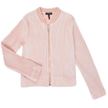 textil Niña Chaquetas de punto Ikks XR17022 Rosa