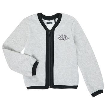 textil Niña Chaquetas de punto Ikks XR17062 Gris