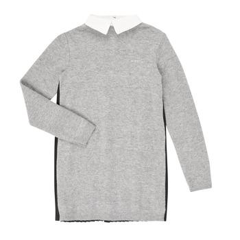 textil Niña Vestidos cortos Ikks XR30082 Gris