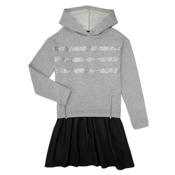 textil Niña Vestidos cortos Ikks XR30112 Gris