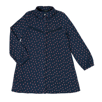 textil Niña Vestidos cortos Ikks XR30152 Azul
