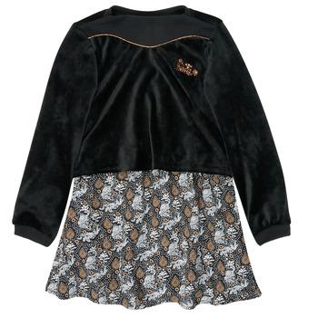 textil Niña Vestidos cortos Ikks XR30162 Negro