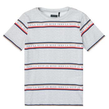 textil Niño Camisetas manga corta Ikks XR10003 Gris