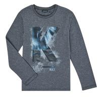 textil Niño Camisetas manga larga Ikks XR10203 Gris