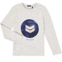 textil Niño Camisetas manga larga Ikks XR10273 Gris
