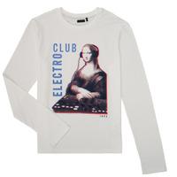 textil Niño Camisetas manga larga Ikks XR10333 Blanco