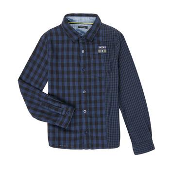 textil Niño Camisas manga larga Ikks XR12123 Azul