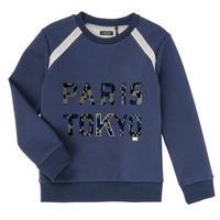 textil Niño Sudaderas Ikks XR15093 Azul