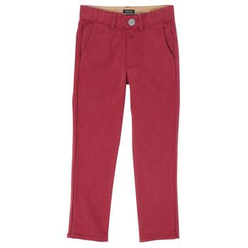 textil Niño Pantalones con 5 bolsillos Ikks XR22093J Rojo