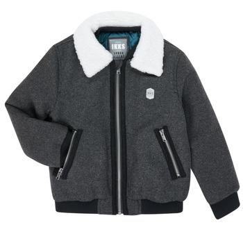 textil Niño cazadoras Ikks XR40083 Gris