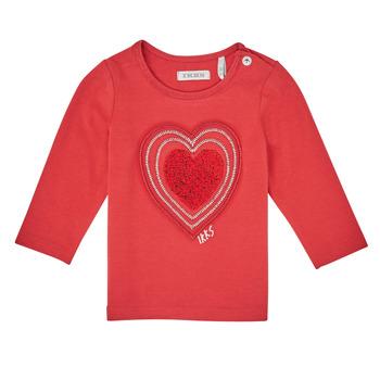 textil Niña Camisetas manga larga Ikks XR10010 Naranja