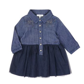 textil Niña Vestidos cortos Ikks XR30150 Azul
