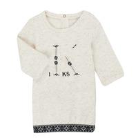 textil Niña Vestidos cortos Ikks XR30180 Beige