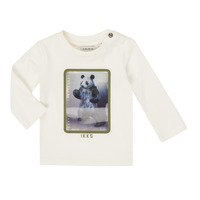 textil Niño Camisetas manga larga Ikks XR10101 Blanco
