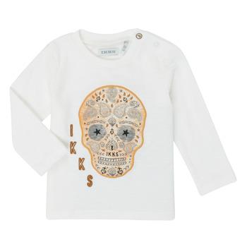 textil Niño Camisetas manga larga Ikks XR10141 Blanco