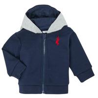 textil Niño Chaquetas de punto Ikks XR17001 Azul