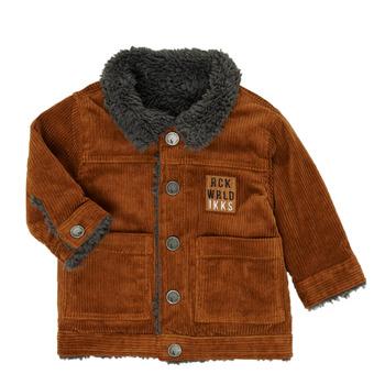 textil Niño cazadoras Ikks XR40051 Marrón