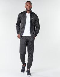 textil Hombre Conjuntos chándal Emporio Armani EA7 TRAIN CORE ID M T-SUIT TT FZ CH PL Negro