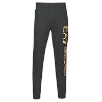 textil Hombre Pantalones de chándal Emporio Armani EA7 TRAIN LOGO SERIES M PANTS Negro