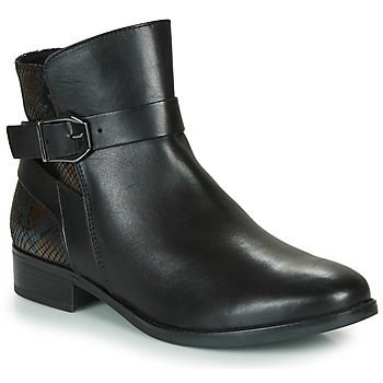 Zapatos Mujer Botas de caña baja Caprice 25331-045 Negro