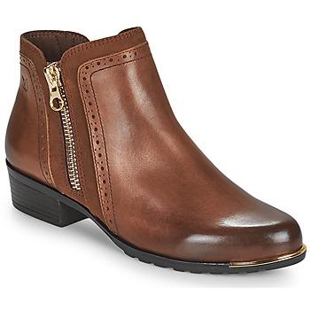 Zapatos Mujer Botas de caña baja Caprice 25403-313 Cognac