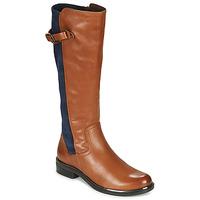 Zapatos Mujer Botas urbanas Caprice 25504-387 Cognac / Azul