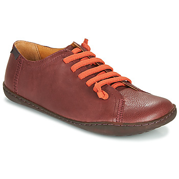 Zapatos Mujer Derbie Camper PEU CAMI Burdeo